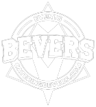 Logo Bevers catering wit
